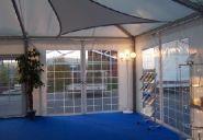 Seitenvorhang für Viereckpagode und Pavillon