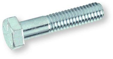 Sechskantschraube mit Schaft DIN 931 8.8 verzinkt M8 x 45