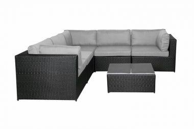 zelt shop eckcouch mit couchtisch online kaufen. Black Bedroom Furniture Sets. Home Design Ideas